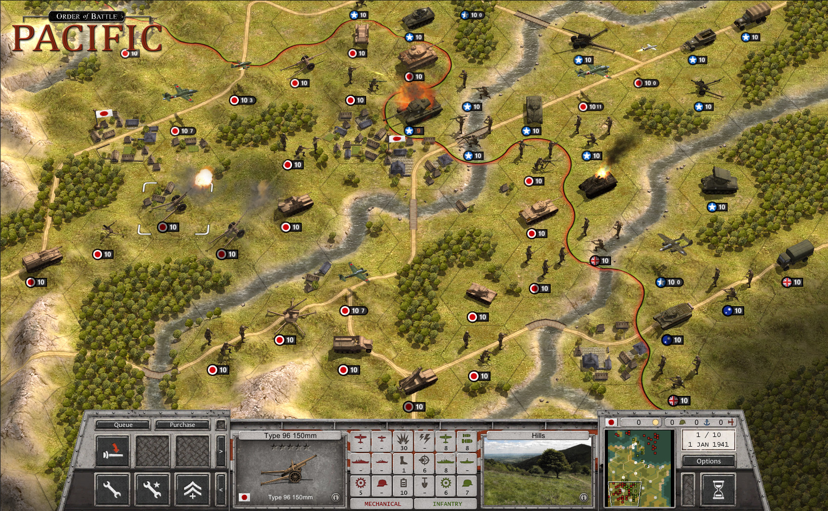 Order of Battle: Pacific full game free pc, download, play  Order of