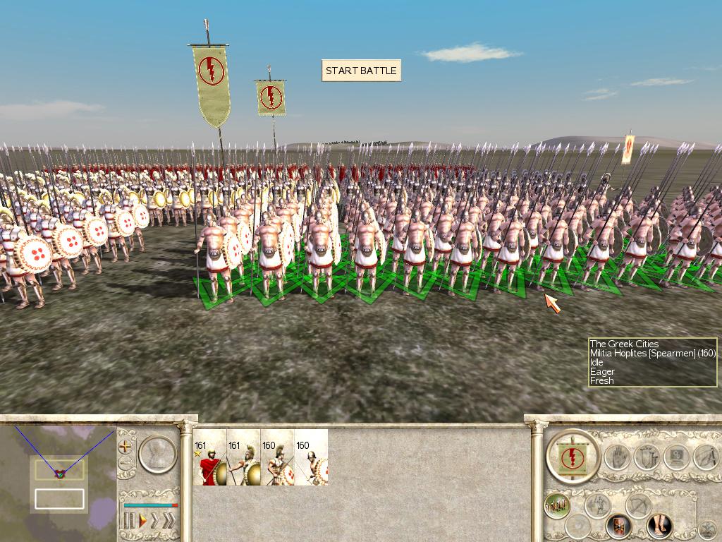 Realistic hoplites for historical rome total war