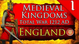 KINGDOM OF ENGLAND! Medieval Kingdoms Total War 1212 AD: Kingdom of England Gamepla